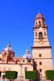 Cathedral of Morelia II. Cathedral of the city of Morelia, located in the mexican state of mich Stock Images