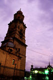 Cathedral- Morelia, Mexico Royalty Free Stock Photo