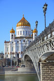 Cathedral in Moscow Royalty Free Stock Image