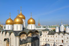 Cathedral of the Moscow Kremlin. Royalty Free Stock Images