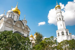 Cathedral in Moscow Kremlin Stock Image
