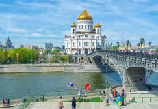 The Cathedral of Moscow Royalty Free Stock Photo