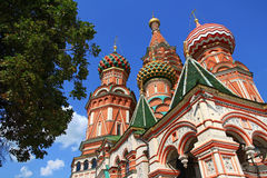 Cathedral  in Moscow Royalty Free Stock Photos