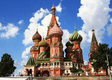 Cathedral  in Moscow Stock Photography