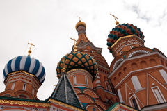 The Cathedral of Moscow Royalty Free Stock Photos