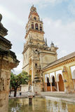 The Cathedral Mosque Alminar in Cordoba, Spain Stock Photos