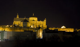 Cathedral and Mosque of Cordoba royalty free stock image