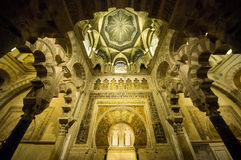 Cathedral-Mosque of Cordoba Stock Photo