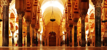 Cathedral-Mosque of Cordoba, Spain Royalty Free Stock Image