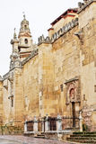The Cathedral Mosque Walls in Cordoba, Spain Stock Photos