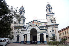 Cathedral of the Most Holy Rosary in Kolkata Stock Photos