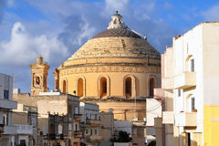 Cathedral in Mosta,Malta Royalty Free Stock Photo