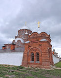 Cathedral of the Mother of God of All Who Sorrow and Joy Trinity. Church in Sviyazhsk Royalty Free Stock Photo