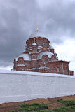 Cathedral of the Mother of God of All Who Sorrow and Joy Trinity. Church in Sviyazhsk Royalty Free Stock Images