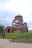Cathedral of the Mother of God of All Who Sorrow and Joy Trinity. Church in Sviyazhsk stock photos