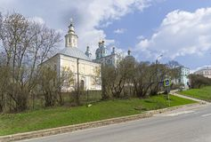 Cathedral Mount in Smolensk, Russia. Stock Photography