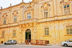 Cathedral Museum in Mdina Malta. Cathedral Museum in Mdina, Malta Royalty Free Stock Image