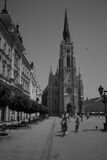 The Cathedral - Name of Mary Church - Novi Sad, Serbia Royalty Free Stock Image