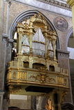 Cathedral of Naples: the organ Stock Photo