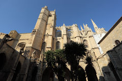Cathedral of Narbonne, France Royalty Free Stock Photos