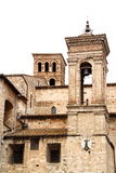 Cathedral of Narni (Umbria, Italy). The ancient cathedral of Narni, Umbria, Italy stock photo