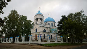 The Cathedral of the Nativity of the blessed virgin Mary in Priozersk Stock Photos