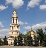 Cathedral of the Nativity on the Cathedral Square in Lipetsk, Russia Royalty Free Stock Photo