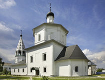 Cathedral in Nativity Convent. Staroe Bobrenevo. Kolomensky District. Russia Royalty Free Stock Image