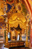 Cathedral of the Nativity (1222) Interior, Suzdal Royalty Free Stock Photos