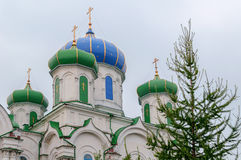Cathedral of the Nativity in Kyshtym, Chelyabinsk region Stock Image