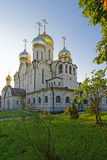 Cathedral of Nativity of Mary in Conception convent in Moscow vi Stock Images