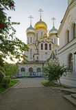 Cathedral of Nativity of Mary in Conception convent in Moscow vi Royalty Free Stock Photo