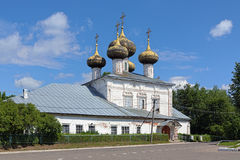 Cathedral of the Nativity of the Mother of God in Ustyuzhna, Rus Stock Photo