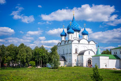 Cathedral of the Nativity, Suzdal, Golden Ring, Russia Royalty Free Stock Photo