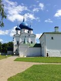 Cathedral of the Nativity of the Theotokos, Russia, Suzdal. Cathedral of the Nativity of the Theotokos is one of the most complex monuments of Russian medieval Royalty Free Stock Photos