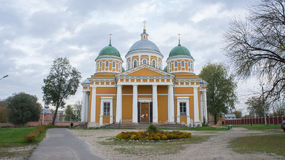 Cathedral of the Nativity in Tver. royalty free stock images