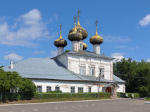 Cathedral of the Nativity in Ustyuzhna, Russia Stock Image