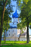 Cathedral of the Nativity of the Virgin in Kremlin in Suzdal, Russia Royalty Free Stock Image