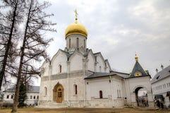Cathedral of the Nativity of the Virgin. Savvino-Storozhevsky monastery. Zvenigorod, Russia. Stock Photography