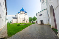 Cathedral of the Nativity of the Virgin in the Suzdal Kremlin Stock Images