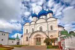 Cathedral of the Nativity of the Virgin. Suzdal, Russia Stock Photos