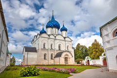 Cathedral of the Nativity of the Virgin. Suzdal, Russia Royalty Free Stock Images