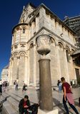 Cathedral next to the leaning tower in Pisa. Italy Stock Photo