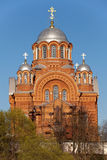 Cathedral Nikol'skiy in Pokrovskiy Hot'kov nunnery Stock Photography