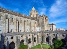 Cathedral of Nossa Senhora da Assuncao. Evora, Portugal. Royalty Free Stock Photos