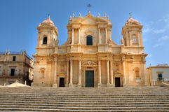 Cathedral of Noto Royalty Free Stock Photography