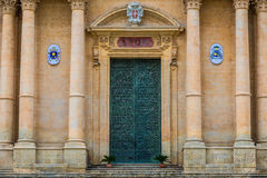 Cathedral in Noto Royalty Free Stock Photo