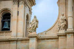 Cathedral in Noto Stock Photos