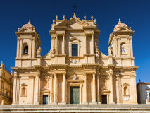 Cathedral of Noto Royalty Free Stock Image