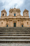 Cathedral in Noto Stock Photography